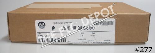 SEALED OCTOBER 2020 Allen Bradley 1756-L75 /B CPU ControlLogix 32MB #277