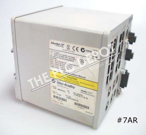 ALLEN BRADLEY 1783-BMS20CGL Stratix 5700 Ethernet Switch 2013 #7AR