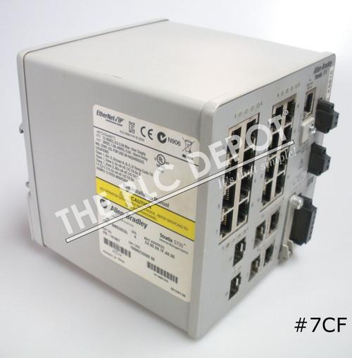 ALLEN BRADLEY 1783-BMS20CGL Stratix 5700 Ethernet Switch 2013 #7CF