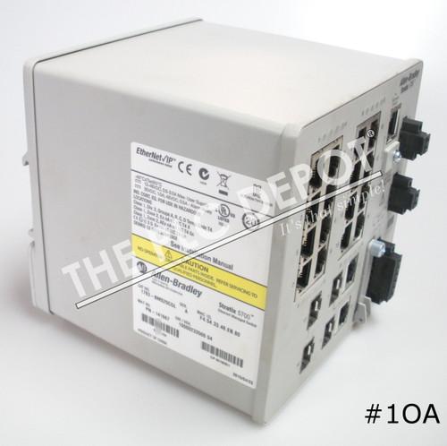ALLEN BRADLEY 1783-BMS20CGL Stratix 5700 Ethernet Switch 2013  #1OA