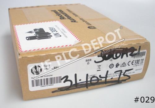 "2021 SEALED Allen Bradley 1747-L551 Series D. 5/05 Processor ""FEDEX FAST"" #029"
