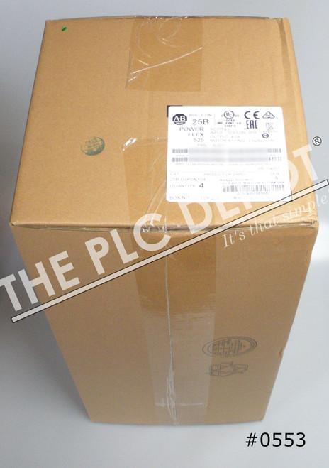 LOT OF 4QTY SEALED Allen Bradley 25B-D4P0N104 PowerFlex 525 Drive 480V #0553