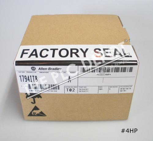 FACTORY SEALED Allen Bradley 1794-IT8 Flex 8 Thermocouple Input Module #4HP