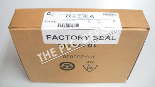 SEALED Allen Bradley 1756-IB32 /B ControlLogix Input Module DC 32 Pts ##750