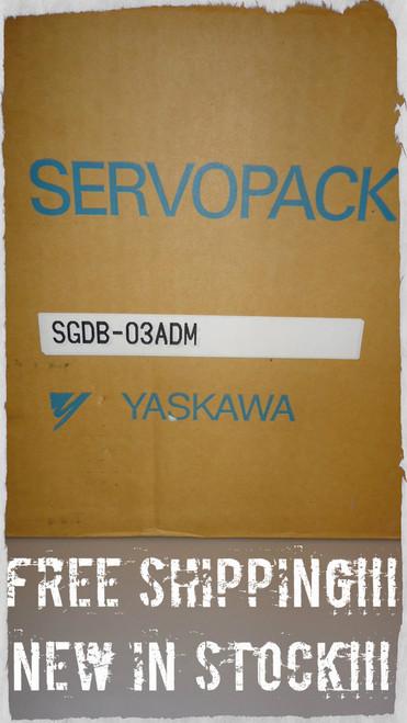 Yaskawa Electric SGDB-03ADM Servo Drive Servopack 0.4HP 3A 0-230V 3PH