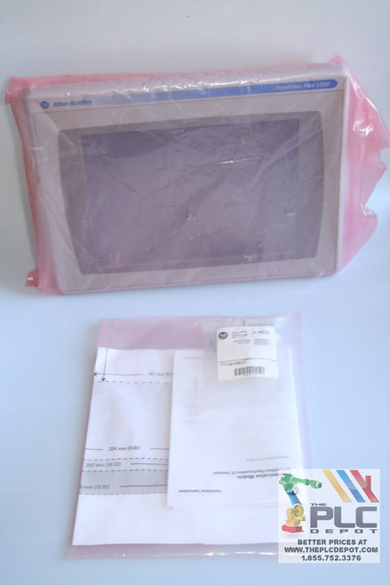 "Allen Bradley 2711P-T12C15D1 Panelview Plus 1250 RN15S Color Touch  12.1"" RDT12C"