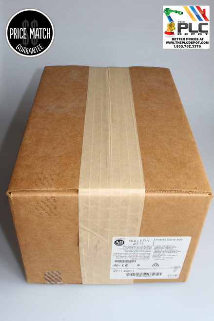 *SEALED* Allen Bradley 2711-B6C1 /C, FRN 4.48 PANELVIEW 600 MFG:2012