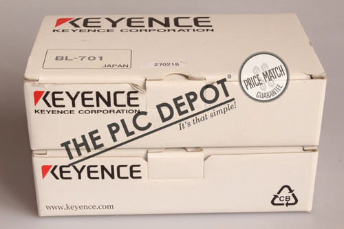BRAND NEW! KEYENCE CORP BL-701 Long Distance Laser Barcode Reader Hi-Res