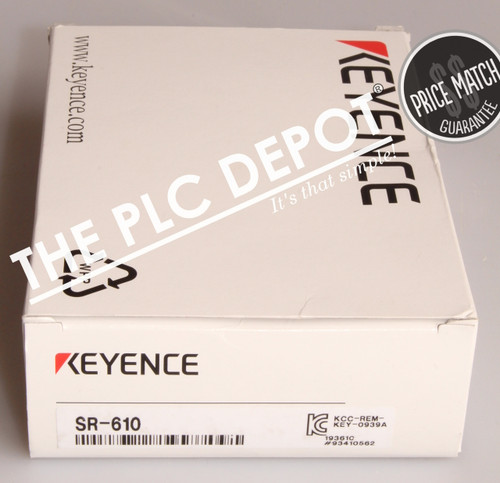 BRAND NEW! Keyence Corp SR-610 Ultra Small 2D Code Reader Medium Distance
