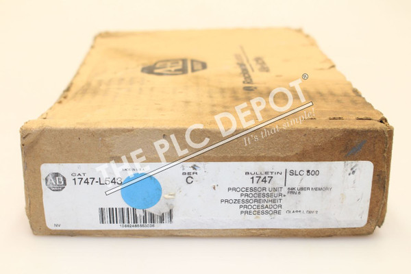 BRAND NEW ORIGINAL BOX! Allen Bradley 1747-L543 /C  SLC 5/04 CPU *FAST SHIPPING*