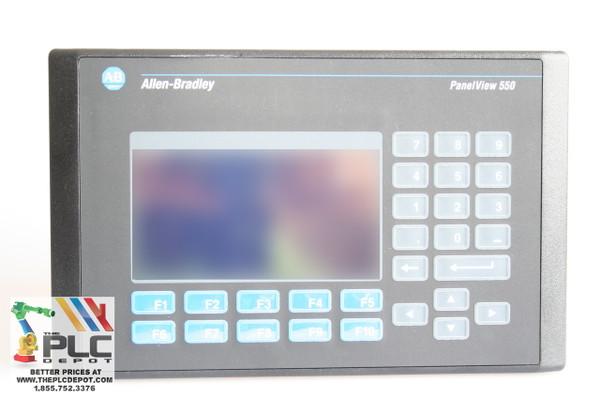 New No Box Allen Bradley Panelview 550 /H FRN 4.41 Operator Terminal
