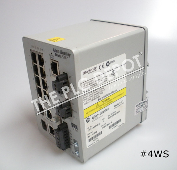 ALLEN BRADLEY 1783-BMS10CGL Stratix 5700 Ethernet Switch 10-Port #4WS