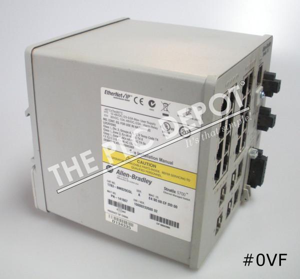 ALLEN BRADLEY 1783-BMS20CGL Stratix 5700 Ethernet Switch #0VF