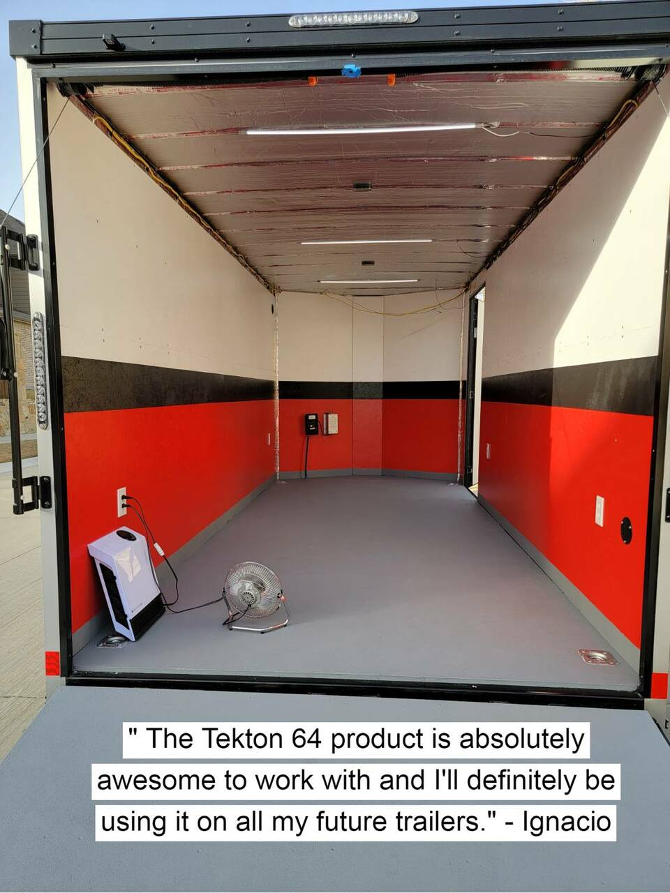 Tekton® 64 Trailer Floor Coating