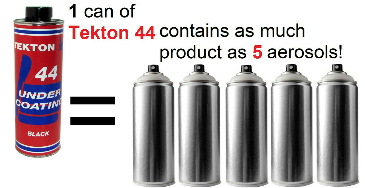 Tekton® 44 Black Undercoating