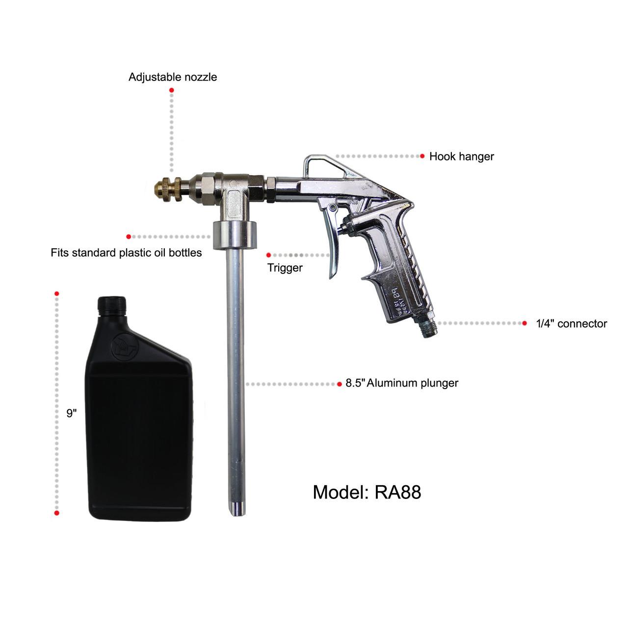 undercoating spray gun