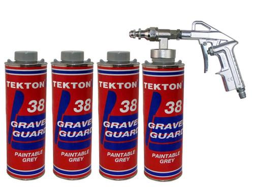 Tekton® 38 Grey Undercoating Gravel Guard Rubber Based Coating