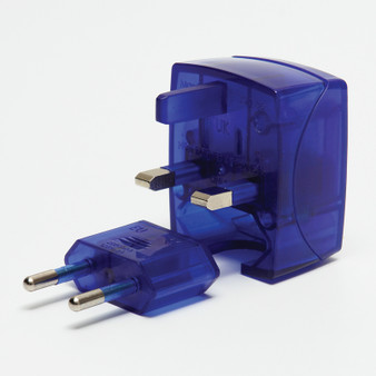 This is small, neat and compact travel adapter is an all-in-one set. Suitable for use in most countries around the world - over 150 countries.