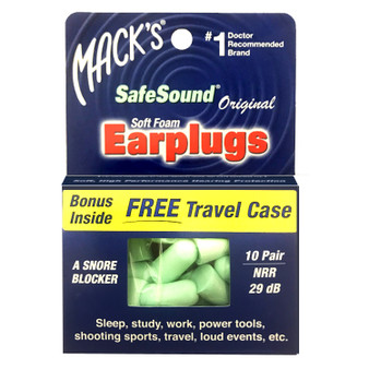 Super soft hearing protection. User preferred teal color makes them as easy on your eyes as they are on your ears.