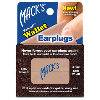Roll Up Wallet Earplugs