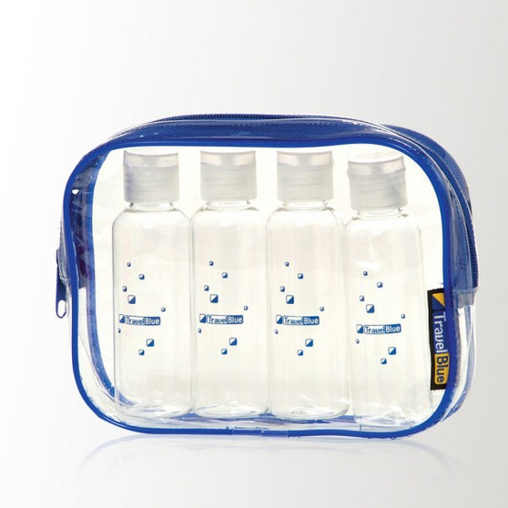 Start your journey stress free! Everything that you need to transport your carry-on liquids safely through security.