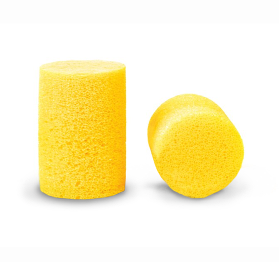 GENERIC 352-2 – Earplugs DIN EN 352-2 defines earplugs as all hearing protectors that are worn directly in the auditory canal or ear cavity.   According to the regulations, use of earplugs is recommended: for continuous noise (lower frequencies) • When earmuffs tend to cause strong sweating • When also wearing safety spectacles • When wearing other protective equipment such as head protection, respiratory protection, face protection together with earmuffs for brief periods of extreme noise