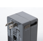 • Convenient travel adapter suitable for most countries around the world