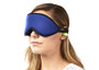 These Blockout Shades include softly contoured foam around the eye socket and are padded to follow the contour of your nose to provide complete darkness, stimulating your body's own natural melatonin production which is helpful for falling asleep.