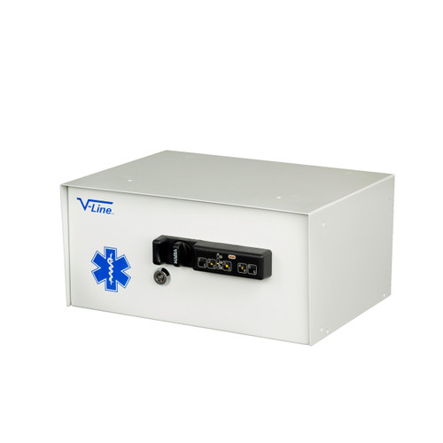 V-Line 6912-SE Narcotics Security Box with Audit Trail Capabilities Closed