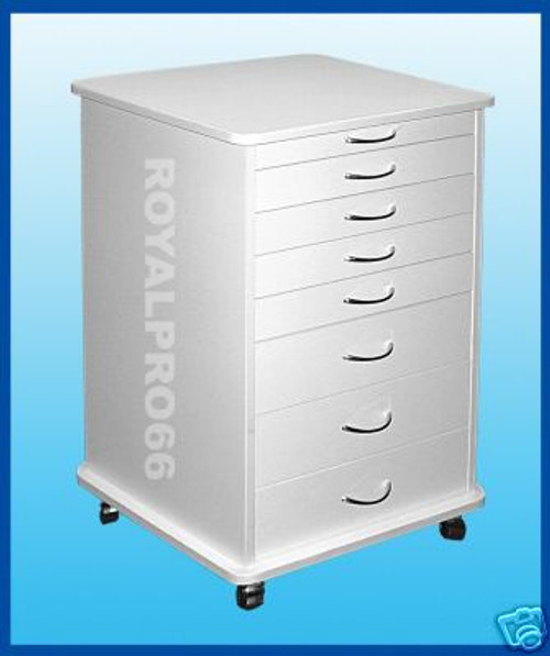 Medical Dental Equipment Doctor'S Mobile Cabinet Cart