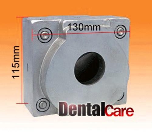New 10 Pcs Dental Flask Flexible Denture Machine Parts