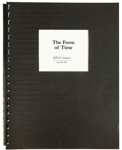 The Form of Time - GBC Bound Photocopy
