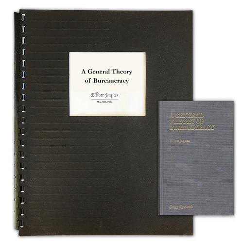 A General Theory of Bureaucracy - GBC Bound Photocopy