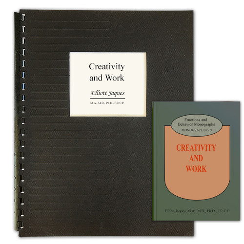 Creativity and Work