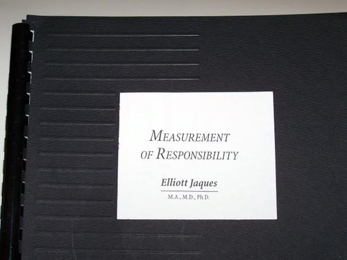 Measurement of Responsibility