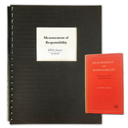 Measurement of Responsibility - GBC Bound Photocopy