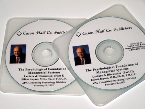 APA Lecture 2002 Psychological Foundation of Managerial Systems - CD Set