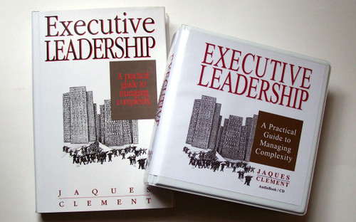 Executive Leadership Audio Book w/ Hardcover book print edition