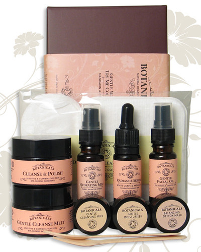 Gentle skincare 'Try me' collection