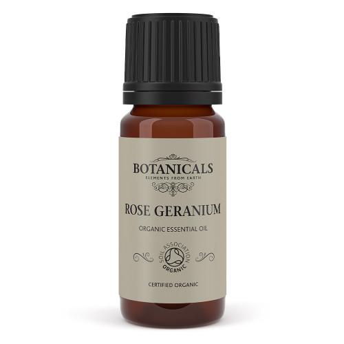 Organic Rose Geranium Essential Oil