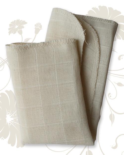 Organic Muslin Face Cloths - (Pack of 4)