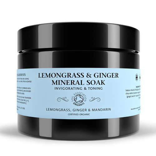 Lemongrass & Ginger Mineral Soak