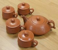 Chinese Earthenware Teaset Haiku