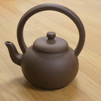 Earthenware Chinese Teapot Delta