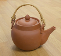 Earthenware Chinese Teapot Classic 1 litre