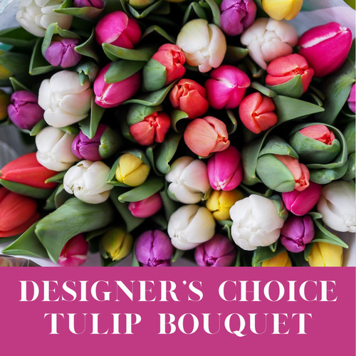 Designer's Choice - Mixed Tulip Bouquet