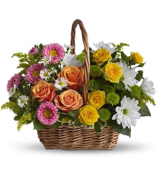 Loving Sentiments Basket