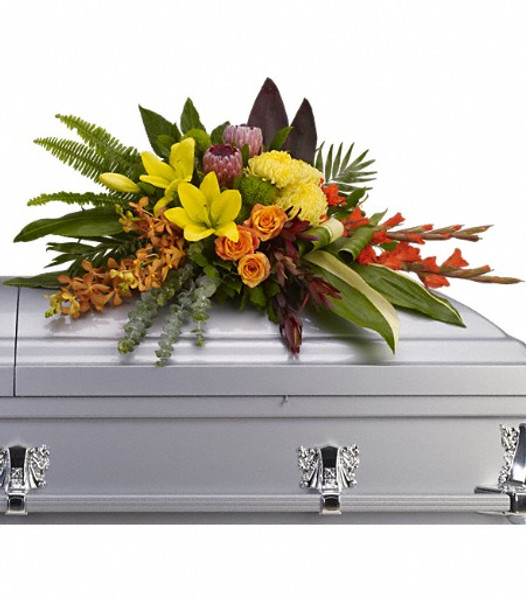 Tropics Casket Spray