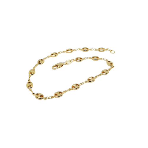 Puff Gucci Link Anklet