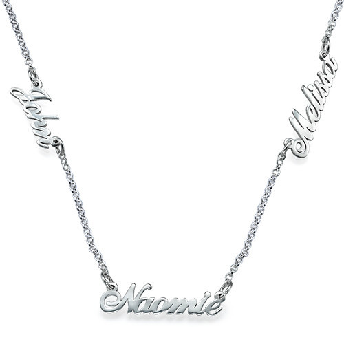Custom Necklace of Names - Carrie Script